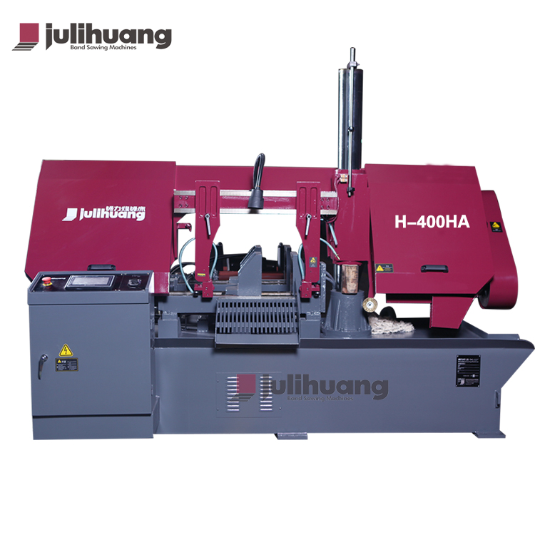 Hot Sale CE ISO Standard JULIHUANG OEM/ODM Cheap Automatic CNC Aluminium Iron Steel Metal Quick Cutting Band Sawing Machine