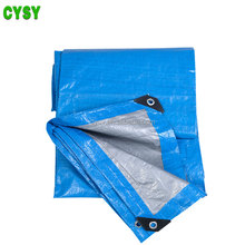 Plastic Tarpaulin Fabric Pe Material Standard Tarpaulin Sizes in Inches