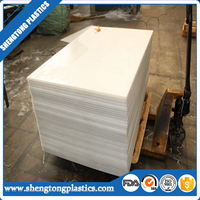 high performance self-lubricating PE 1000 UHMWPE sheet / board / plate