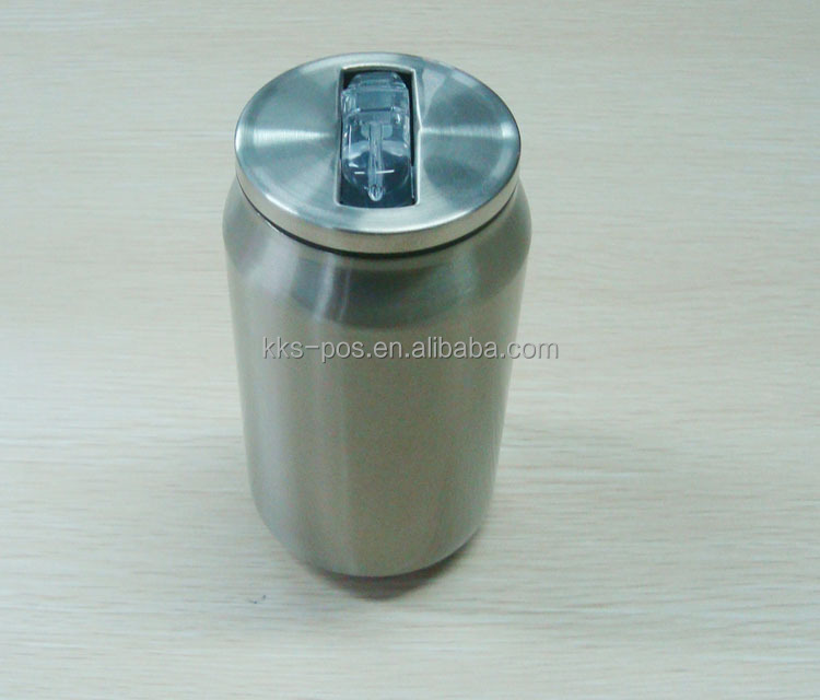 Wholesale Vacuum Stainless Steel Can With Straw