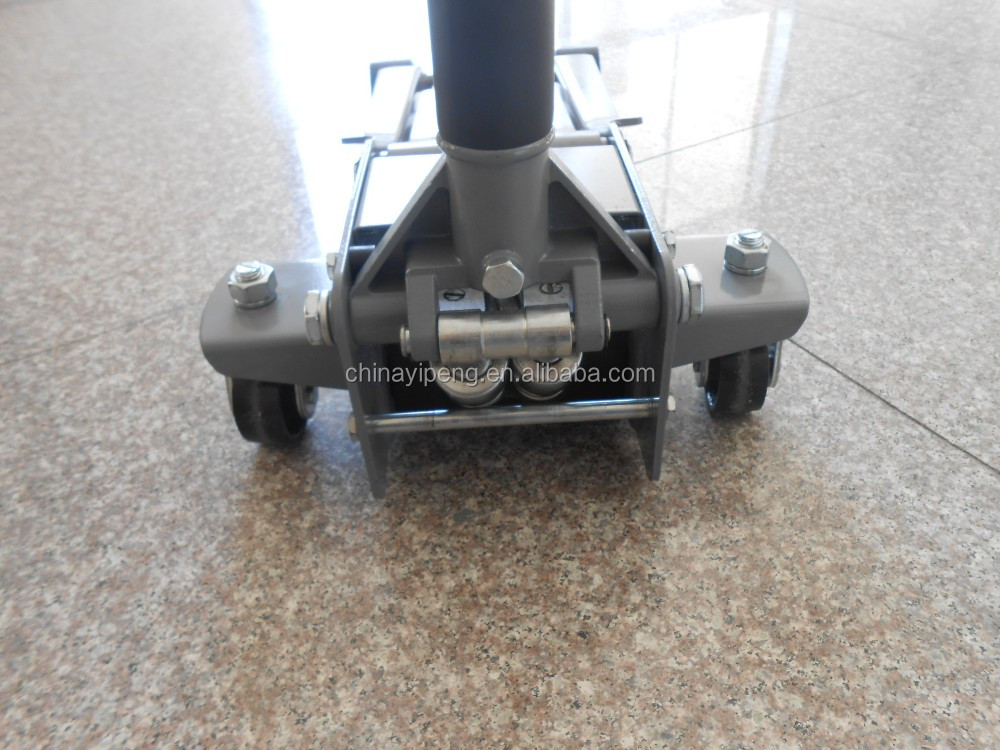 3T double pump hydraulic low profile trolley jack lifting jack floor jack
