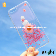 "Pressed flower phone cover,Dried real flower phone case for iphone 6/Iphone 6S 4.7""-Colorful"