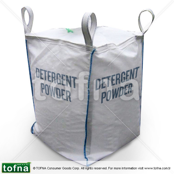 Bulk Washing Powder / Detergent Powder For Automatic Wash, 550kg/1mt Big Bag, Lemon Perfume