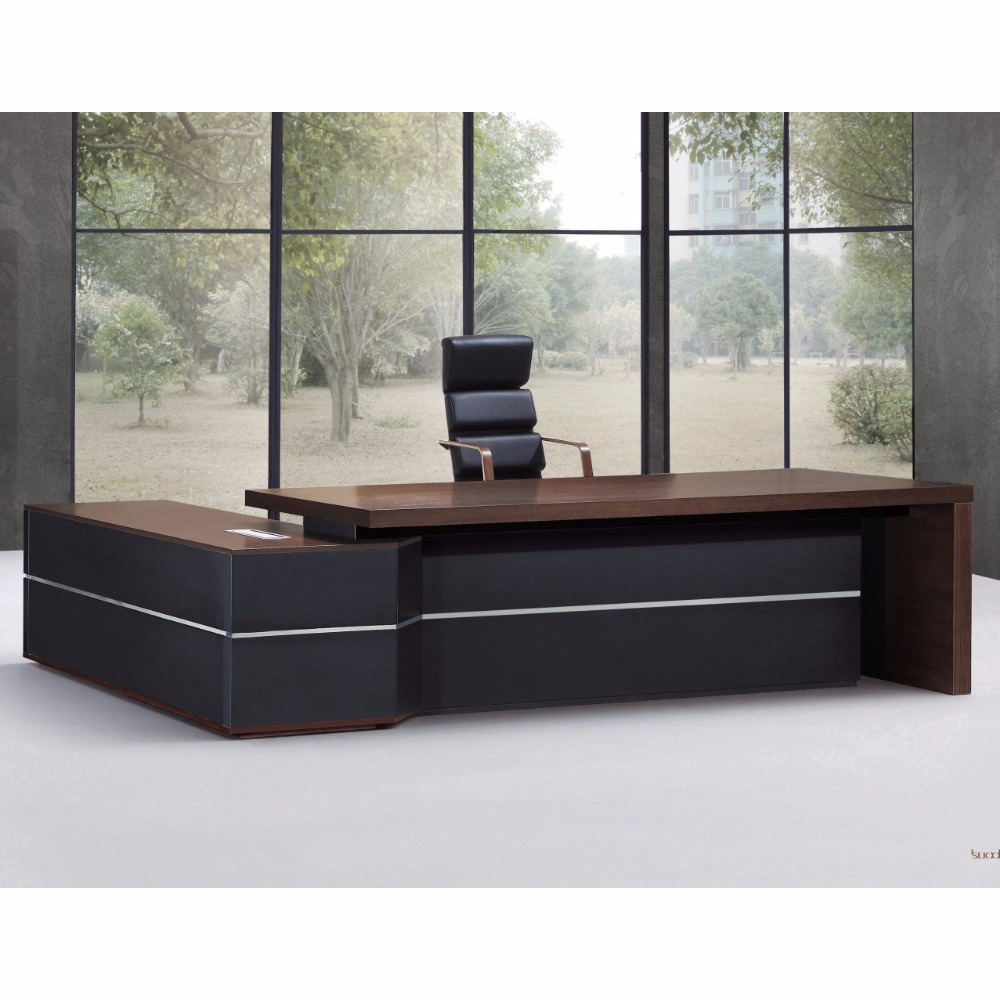 China supply l shape modern executive boss director office desk office table design