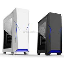 Laser luminous Logo Computer pc case gaming with card reader
