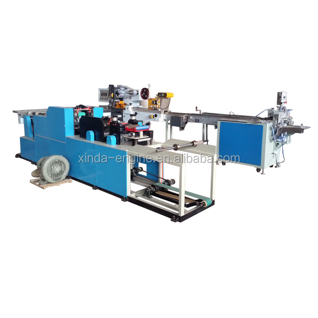 small handkerchief tissue paper production line
