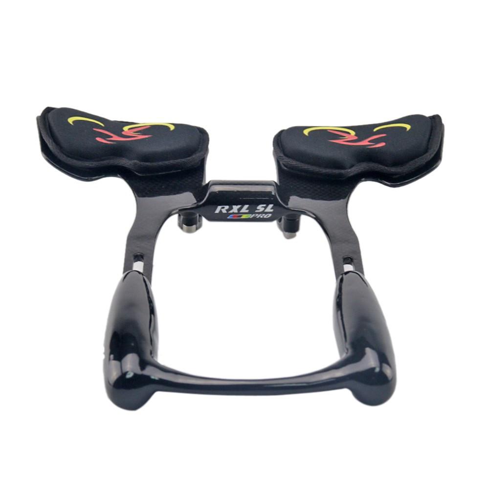 TOSEEK Carbon Fiber Road Bike Handlebar Bicycle TT Time Trial Triathlon Aerobar