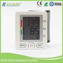 Multi-Function Wrist Watch Blood Pressure Monitor