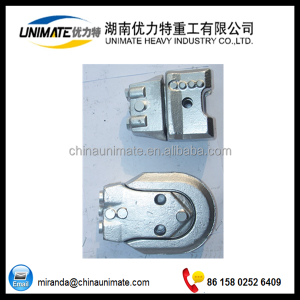 Casing shoe with pin on teeth WS39 for rotary drilling tools SH39