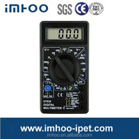 Pocket-size 830B handheld digital multimeter
