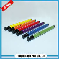 New style ball pen with highlighter multi color marker pen