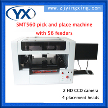 Advanced Technology LED Light Assembly Line SMT560 SMT Equipment Pick And Place Machine With 56 Feeders