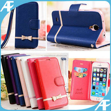 hot selling wallet flip leather case for iphone 5/5s/6/6s/6+/6s+