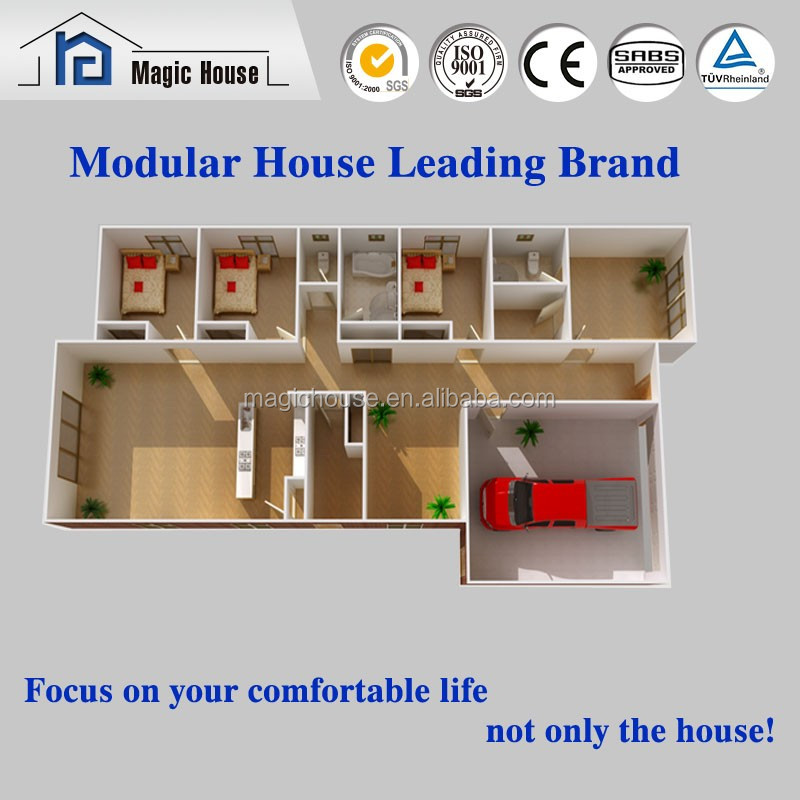 Shandong Magic fast assemble 20ft container house/container apartment building/hotel