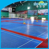 Wholesale cheap plastic volleyball court flooring material