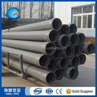 2017 new design Pvc building water supply pipe