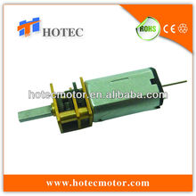 light duty low power 6v 12V hotec motor to replace sayama geared motor