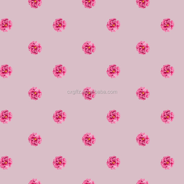 100% polyester brushed simple colorful flower printing hometextile fabric