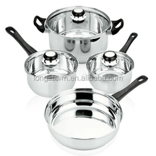 LTP060 7pc Stainless Steel Cookware Set