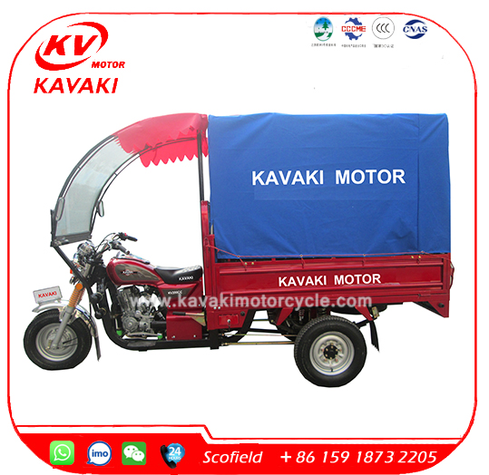 KAVAKI Lifan 200CC Cargo Tricycle Motorized Tricycles for Adults
