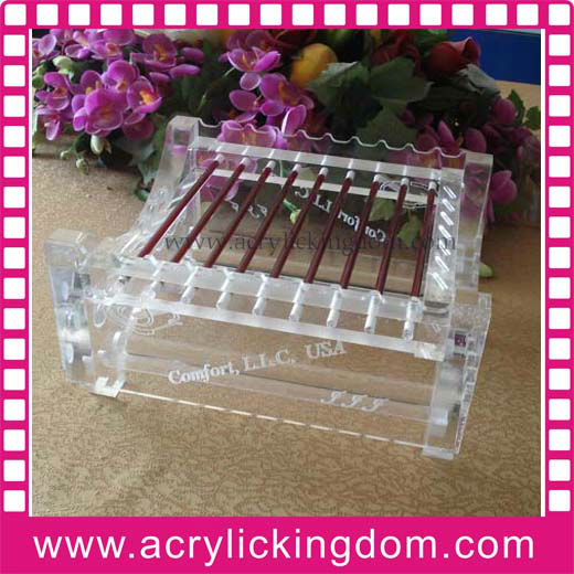 clear acrylic knife display stand