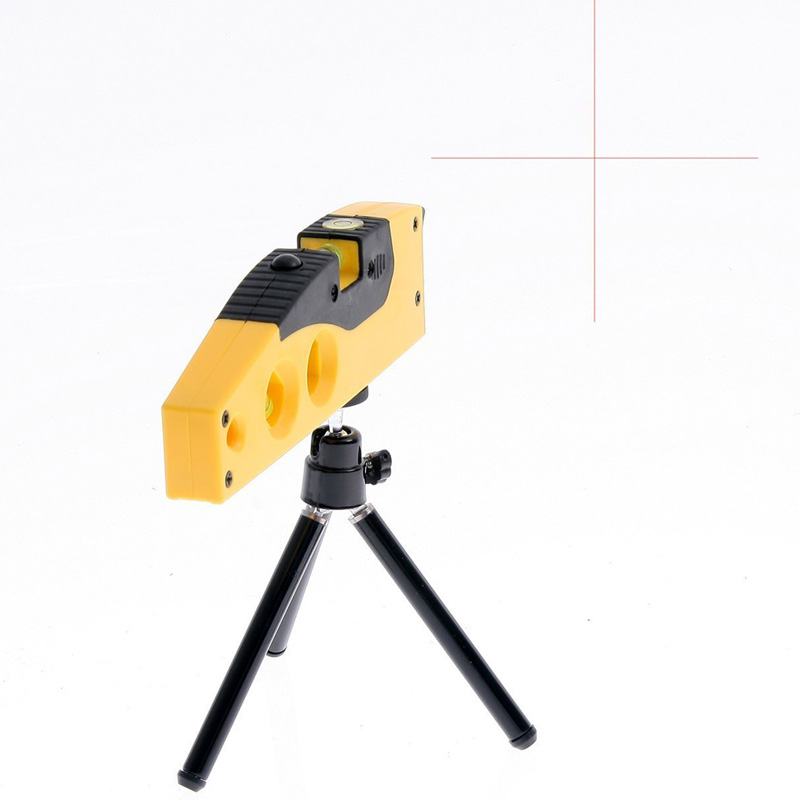 SE-TD9B MiNi portable universal bubble Cross line and point cross line horizontal laser level meter
