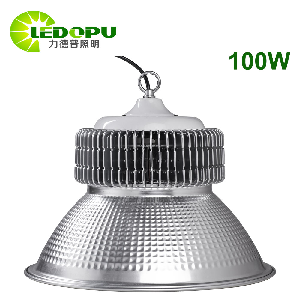 High Quality Intertek TUV GS LVD ROHS Certificate 100W LED High Bay UFO Casting Lighting Square For Industrial Indoor Stadium