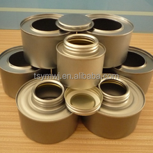 100ml Empty Tin Can With Screw Plastic Cap Brush For PVC Solvent Cement