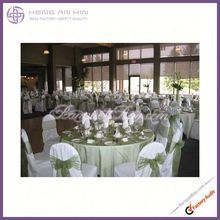 wholesale fashion chair covers wedding mint green fancy Organza sash for chair coveres manufacturer supplier