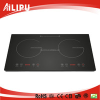 Grade Crystal Ceramic Glass Double Head Induction Cooktop, Induction Cooker