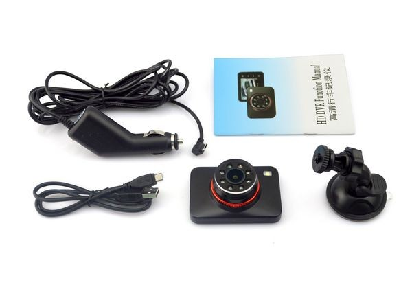 Factory Price 2.7 inch TFT china rear view mirror car dvr portable 12v dvd player without screen
