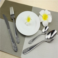 fork and spoon gift set for liquidation dinnerware