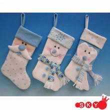 2013 High quality woolen christmas ornament stockings