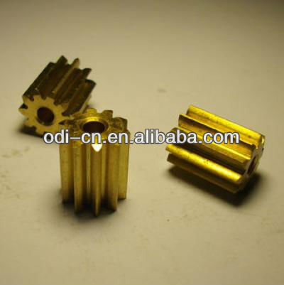 ISO OEM High Precision Brass Small Gear and Pinion