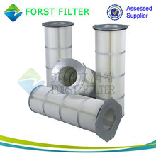 FORST High Efficiency Filtration Cartridge Filter Element for Industrial Dust