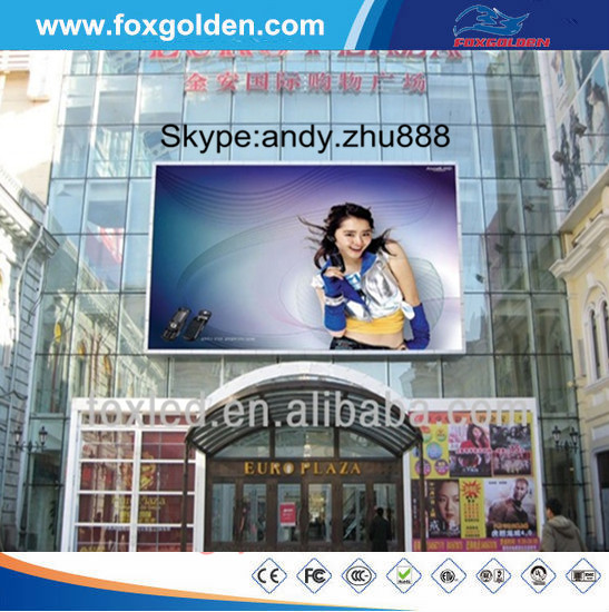 Huahai P20 rgb led panel dmx /P20 led outdoor billboard advertising