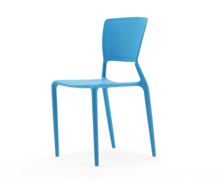 PP-119A2 SOLID CHAIR WITHOUT ARM