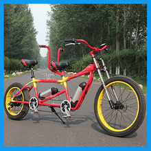 2 Passengers Tandem Electric Bicycle for Sale