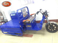electric tricycle with three open door,convenience trikes for carriage