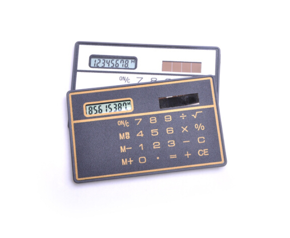 yiwu wholesale hot sale fashion solar calculator