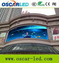 Outdoor Usage and video/Message/picture/text display function p8 full color led display