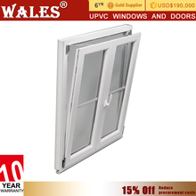 Manual casement type vinyl inward opening casement window