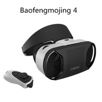 2016 New Arrival Baofeng Mojing 4 Virtual Reality 3d Glasses Vr Glasses For Smartphones Hd Film Bluetooth Control Gamepad
