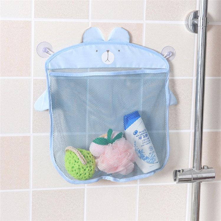 2018 Fashion Baby Bath Toy Mesh Storage Bag Bathtub Doll Basket ...