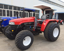 China Luzhong 554 55hp 4WD wheeled farm tractor for sale in Philippines