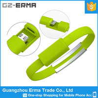 Cheap Price Good Quality Mini Hand Ring Wrist Charging Line Mobile Phone Accessory Data Line