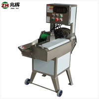 Automatic commercial stainless steel potato chips cutter