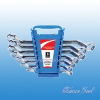 Double offset ring wrench set WSC022