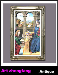 Religion god wood picture frame church decorative picture frame