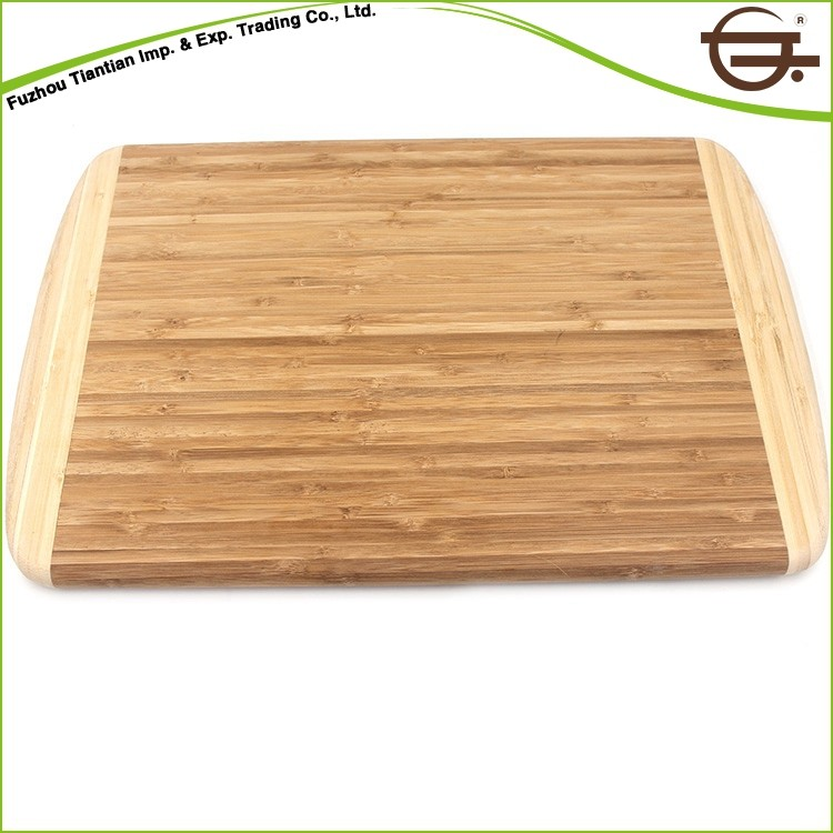 Hot Selling Safety Material 100% bamboo feature cutting board